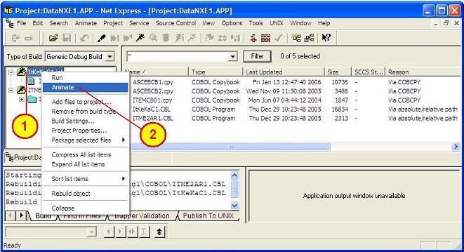 net express cobol